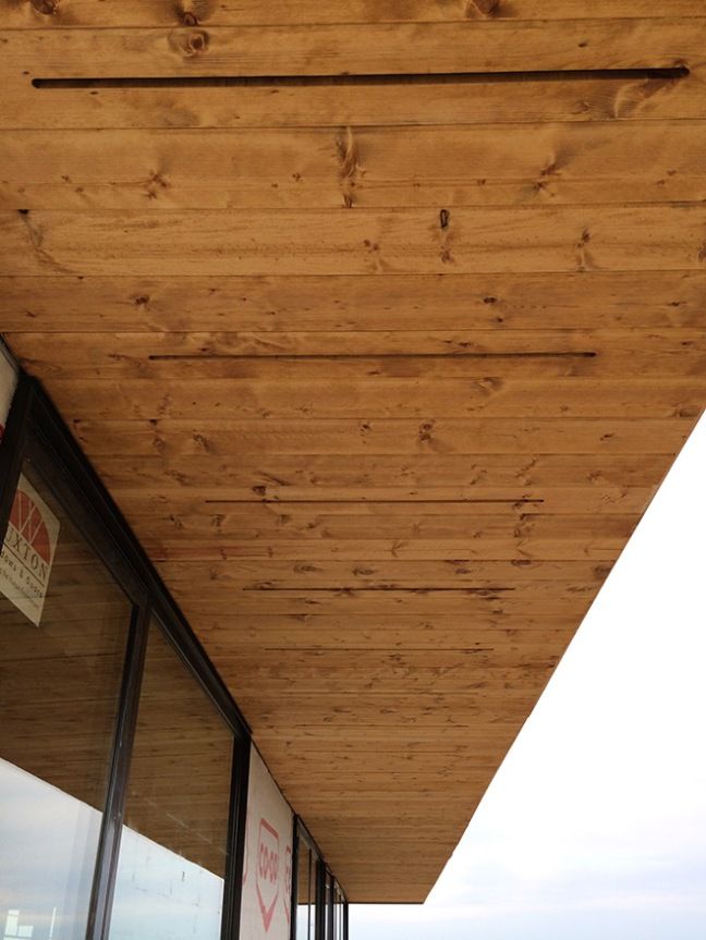 Siding And Soffits At The Blue Heron Ecohaus