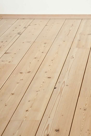 Mjolk Douglas Fir floors